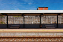 Train platform Royalty Free Stock Image