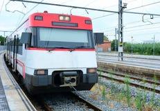 Train at platform Stock Photography