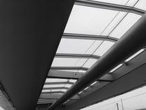 Train platform roof Stock Photo