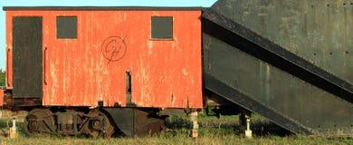 Train plow car stock illustration