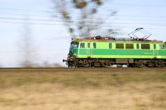 Train in Poland Stock Photography