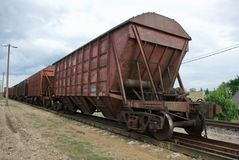 The train and rail Stock Images