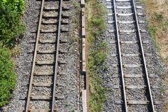 Train rail Stock Images