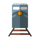 Train rail road mass transit shadow Royalty Free Stock Image