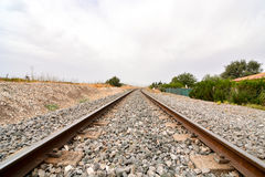 Train Rail Road Royalty Free Stock Photography