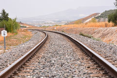 Train Rail Road Royalty Free Stock Images