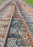 Train rail way in Asia Stock Photography