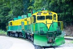 Train and Railroad Royalty Free Stock Photos