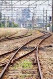 Train railroad Royalty Free Stock Photo