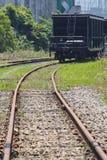 Train railroad Stock Photo