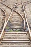 Train railroad Stock Image