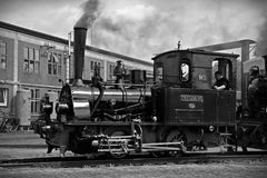 Train on Railroad Track royalty free stock photography