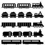 Train and railroads Stock Images