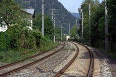 Train rails Royalty Free Stock Photography