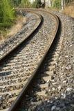 Train rails Stock Images