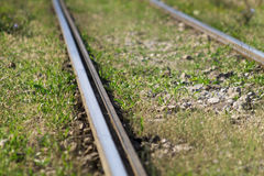 Train rails Stock Photography
