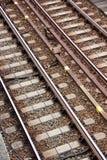 Train rails Royalty Free Stock Photos