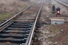 Train rails Stock Photography