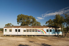 Train with Rainbow Stock Photos