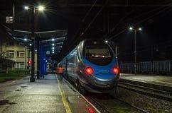 Train rapide Image libre de droits