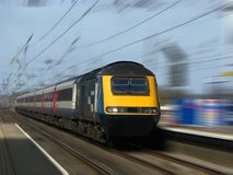 Train rapide photos stock