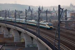 Train rapide Photos libres de droits