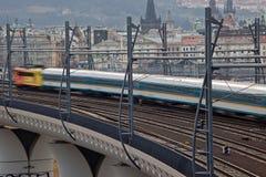 Train rapide Photo libre de droits
