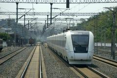 Train rapide chinois Image libre de droits
