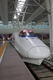 Train rapide chinois de CRH Images libres de droits
