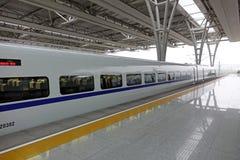 Train rapide chinois de CRH Photographie stock