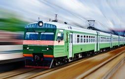 Train rapide de passanger Photo stock