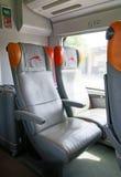 Train rapide italien, d'intérieur Image libre de droits