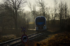 Train Regioshark in morning royalty free stock image