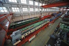 Train repair factory Stock Photos