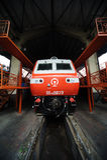 Train repair shop Royalty Free Stock Images