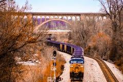 Train, Richmond Va stock photo