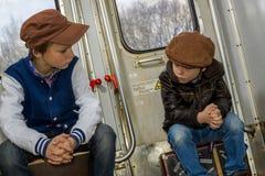 train ride Stock Photography