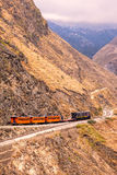 Train Ride, Devils Nose, Nariz Del Diablo Royalty Free Stock Image