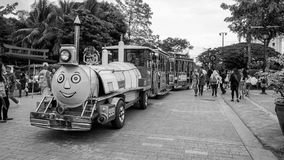 Train Ride inside a Children`s Park royalty free stock images