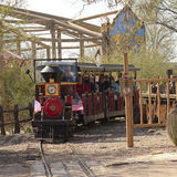 A Train Ride of Old Tucson, Tucson, Arizona Royalty Free Stock Image