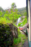 Train ride to Kuranda Australia. Taking the train to Kuranda Australia royalty free stock photos