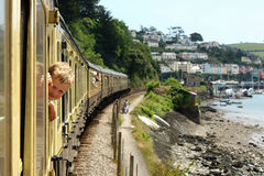 Train Ride Royalty Free Stock Images