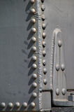 Train rivet detail Royalty Free Stock Photos