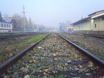 Train road royalty free stock photo