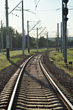 Train road Royalty Free Stock Images