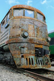 Train rouillé Images libres de droits