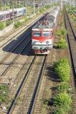 Train roumain photo stock