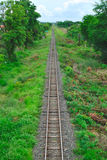Train running. In khonkaen of thailand Royalty Free Stock Image