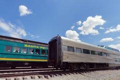 Train at Santa Fe Station Stock Photos