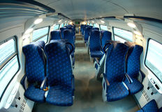 Train seats Royalty Free Stock Photography